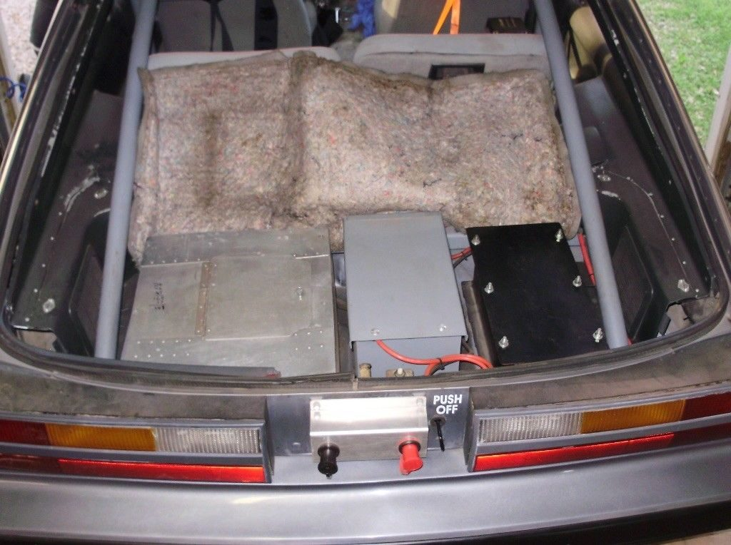 1985 Ford Mustang hatchback drag race car