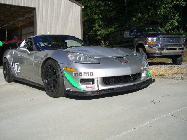 2006 Corvette C6 Silver Racecar GT 2,3