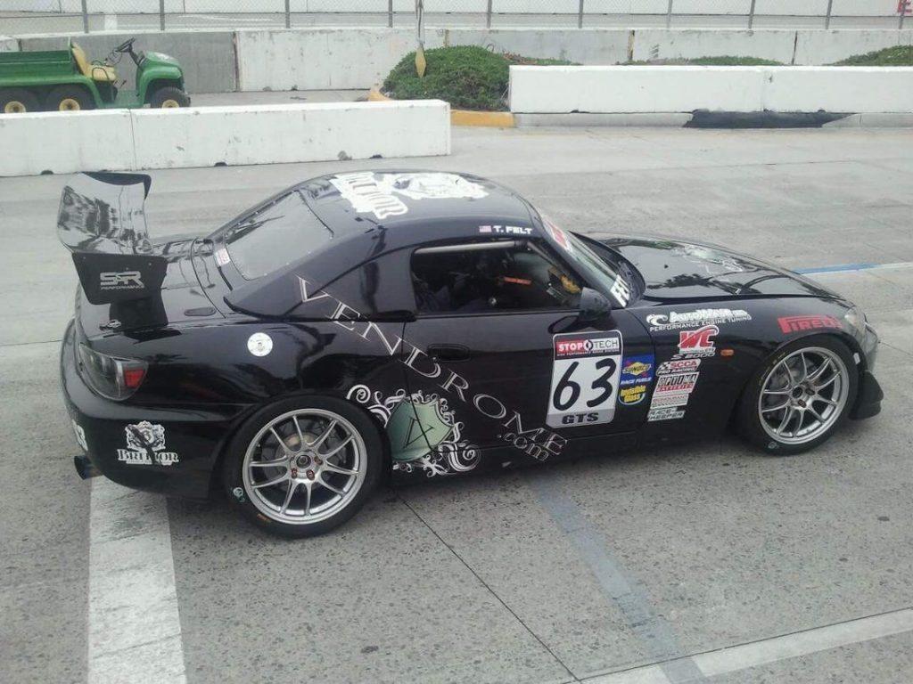 2008 Honda S2000CR World Challenge GTS, NASA ST4, ST3, SCCA STU