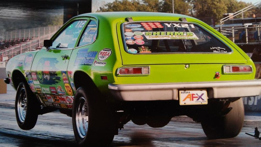 Drag Racing Race Cars 1976 Ford Pinto Rat Rod Gasser Muscle Car for sale