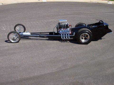 "Original 1962 AA/FD Fuel Dragster Cacklecar ""Chubasco"" for sale"