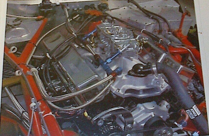1978 Chevrolet Corvette SCCA, Trans Am IMSA race car