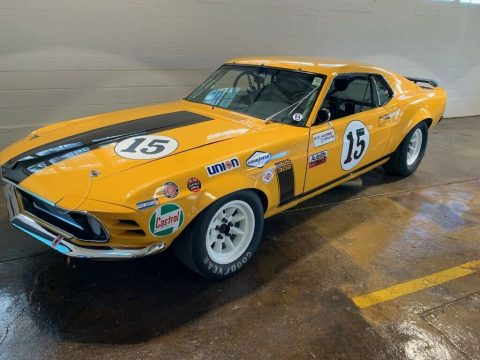 1970 Ford Mustang Boss Trans Am Race Car for sale