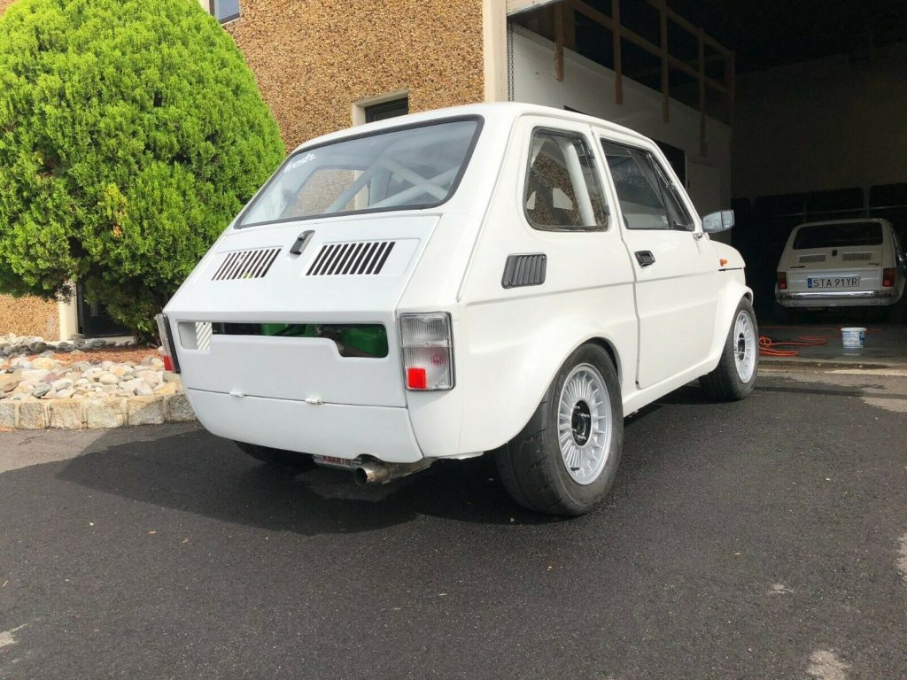 1986 Fiat 126p Rally Race Car